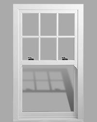 Charisma Rose uPVC sash window