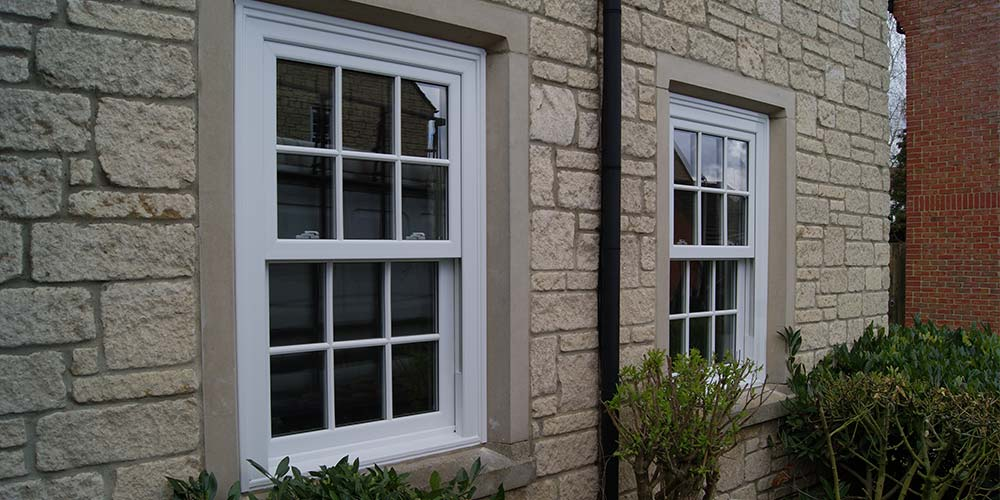 Charisma Rose uPVC sash windows
