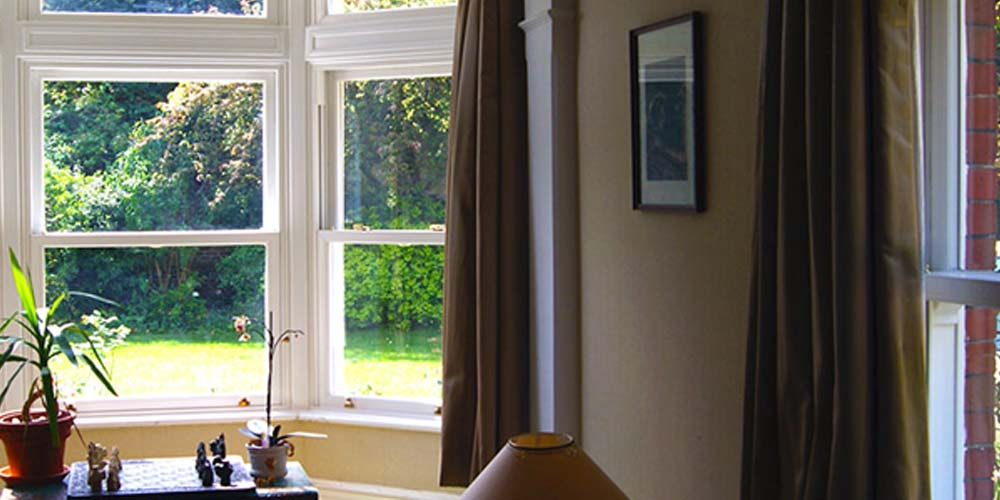 Heritage Rose uPVC sash windows