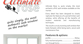 Ultimate Rose product sheet