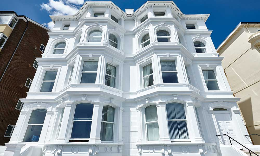 sash windows in a conservation area