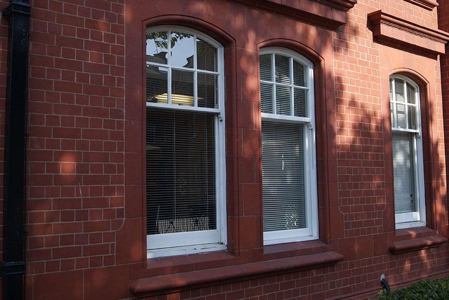 Heritage Rose sash window