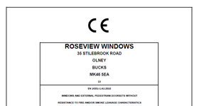Roseview CE Mark report