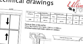 Ultimate Rose technical drawings