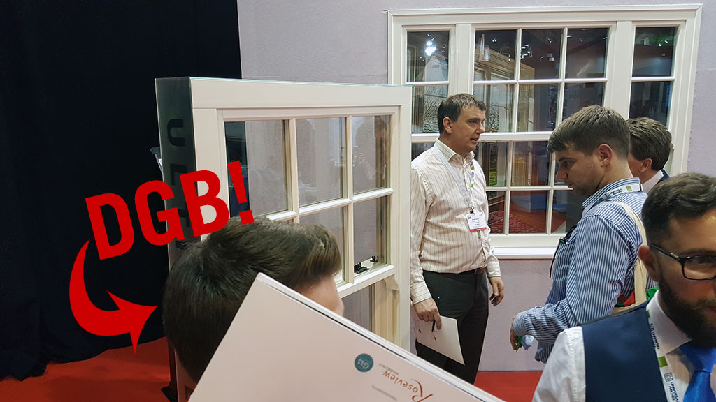 Roseview Windows stand at The FIT Show. Photo credit: Double Glazing Blogger