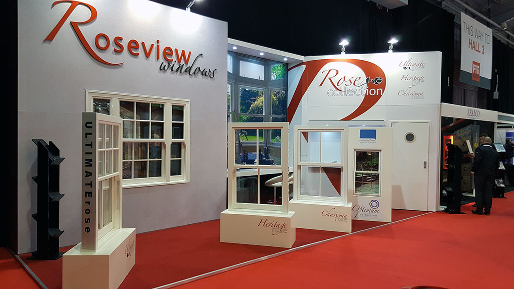 Roseview FIT Show stand 2016