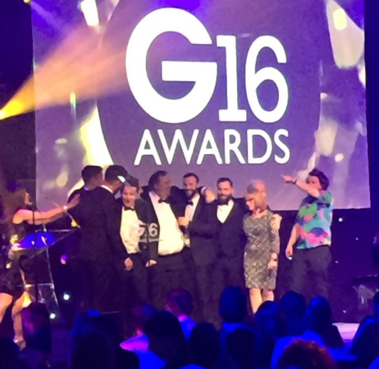 Roseview win G16 award