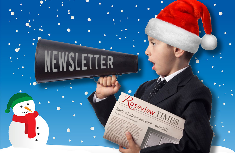 Roseview Christmas newsletter
