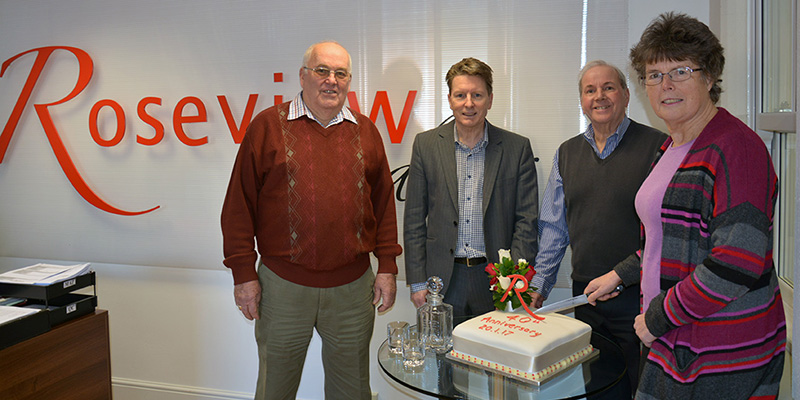 Roseview's 40th anniversary presentation