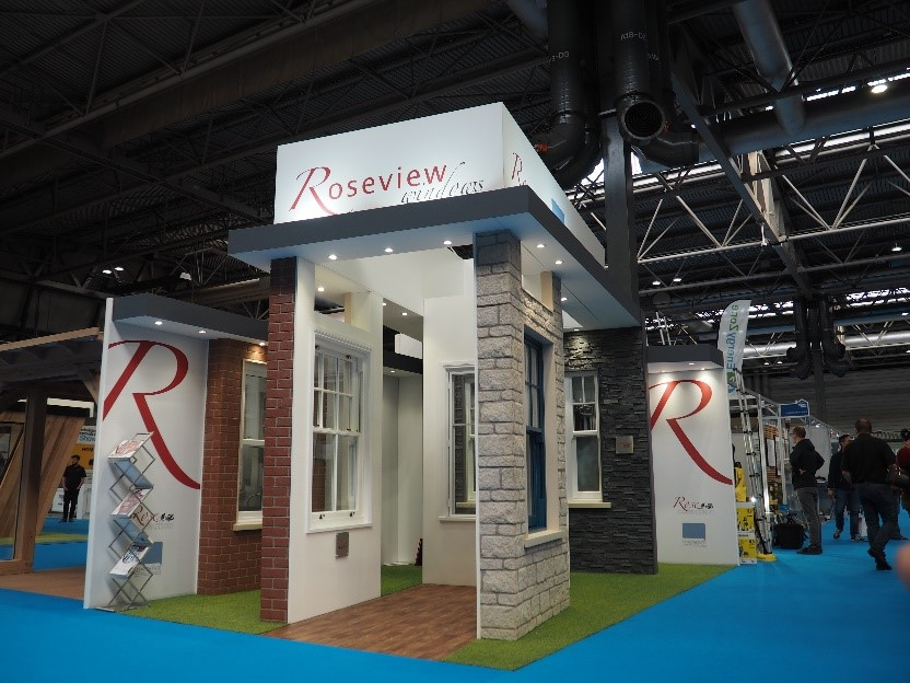 Roseview's stand at the HBR show