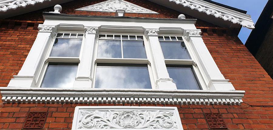 Ultimate Rose sash window