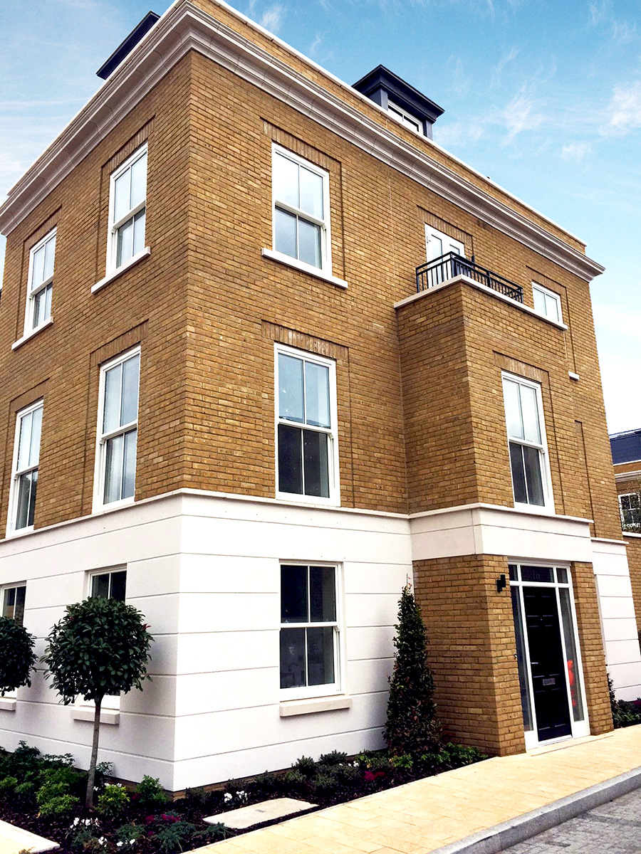 sash windows for new build